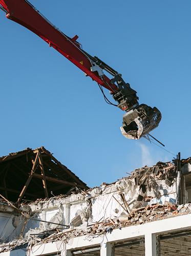 Sanierung von Gebäuden durch Entrümpelungen